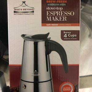 Brand new Espresso maker for sale